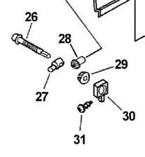 Chain Bar Tensioner Adjuster Kit Assy Echo cs-345 cs-346 chainsaw parts