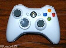 Genuine Microsoft XBOX 360 (X809478-0001) White/Gray Wireless Controler