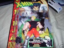 X-Men Ninja Force SabreTooth Action Figure Unopen Box