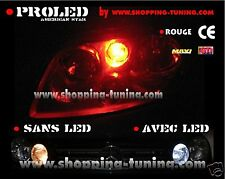 2 VEILLEUSES LED W5W ROUGE PEUGEOT 306 307 308 309