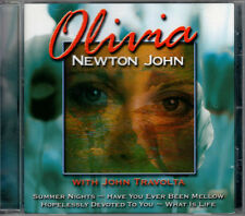OLIVIA NEWTON JOHN with JOHN TRAVOLTA CD 2001 RARE OOP
