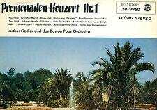 ARTHUR FIEDLER BOSTON POPS ORCH CONCIERTO DE PASEO NR.1LIVING STEREO LP (L9350)