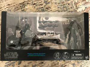 Star Wars Black Series Imperial Shadow Squadron - Near Mint, Re-carded