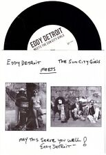 "Eddy Detroit Meets The Sun City Girls 7"" OOP NM JFA Black Flag Meat Puppets"