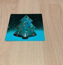New Starbucks Card Hungary - Christmas Tree Die Cut Card