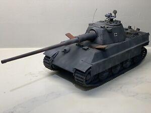 21st Century Toy Panther II F Tank Schmalturm Ultimate Soldier Panzer 1/18 Dust