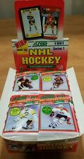 Score 1991 Series 1 Hockey Cards 15 Cards Per Pack x1 packs exclusive Bobby Orr?