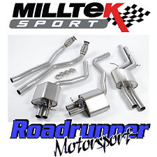 "Milltek Audi RS6 C7 & RS7 C7 Exhaust System 2.75"" Cat Back Resonated SSXAU364"