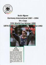 BODO ILLGNER GERMANY INT 1987-1994 ORIGINAL SIGNED MAGAZINE CUTTING
