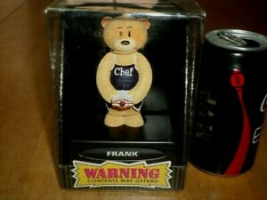 "BAD TASTE BEARS - ""FRANK"", RESIN TEDDY BEAR FIGURINE, COLLECTOR'S TOY, [ NIB ]"