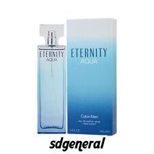 ETERNITY AQUA for Women by CALVIN KLEIN 3.4 3.3 oz / 100 ml EDP New in Box