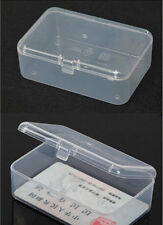 Small Transparent Plastic Storage Box clear Square Multipurpose display box