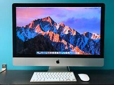 """Apple iMac 27"""" 5K with RETINA / 3.9GHZ QUAD / 3TB SSD / 3YR WARRANTY / 2014-2017"""