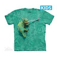 Climbing Chameleon Kids T-Shirt by The Mountain. Amphibians Sizes S-XL NEW