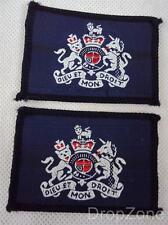 2x Militare Inglese RAF Warrant Officer Classe 1 Rango Distintivo In Tessuto