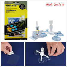 Car/Van Windscreen/Windshield Glass Chip/Crack Resin Repair Tool &Holder Kit DIY