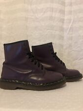 Dr Martens Purple Made In England Size 6