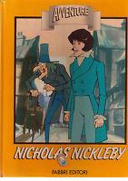 Nicholas Nickleby con Videocassetta - Dickens - Libro nuovo in offerta !