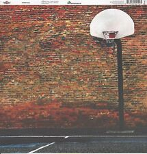 Reminisce - Streetball Basketball Scrapbooking Paper - TBAC-008 Double Sided