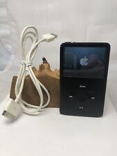 Apple iPod Classic 2007 Model No. A1238 Black & Silver (back) 80 GB Works .99 NR
