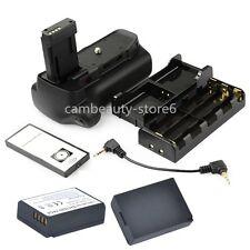Battery Grip Holder For Canon eos 1100D 1200D Rebel T3 T5 slr  + IR + 2 x LP-E10