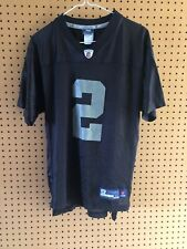 Oakland Raiders Blank #2 Jersey Youth Extra Large Reebok NFL Football XL
