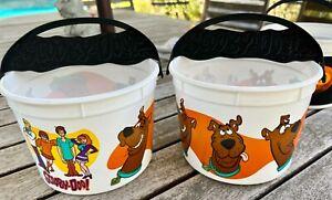 McDonald's x SCOOBY DOO (2x) 2012 Halloween Trick or Treat Bucket + bonus NBX !!