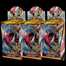 Jeu de Cartes JCC Pokemon XY Rupture TURBO EX 90 Booster Pack Display Box Coréen