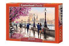 ! nuevo! Castorland a lo largo del río Street Scene Rompecabezas de 2000 piezas