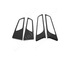 For 2019-2020 Hyundai Tucson Carbon Fiber Look Inner Door Handle Dowl Cover Trim