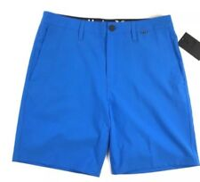 HURLEY ONLY 19 Men's Blue Shorts Athletic Golf Walk Size 31 NWT $60