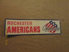 Ahl Rochester Americans Vintage Circa 1970's Team Logo Hockey Bumper Sticker