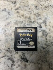 Pokemon Black authentic *CART ONLY*  Very Rough But Tested And Works