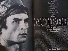 Paris MATCH -Janvier 1971- Rudolf NOUREEV ; Albertine SARRAZIN ; la POLOGNE