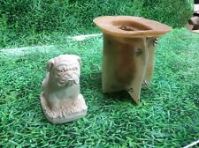 LATEX ONLY MOULD BRITISH BULLDOG 16CM TALL ORNAMENT MOULD