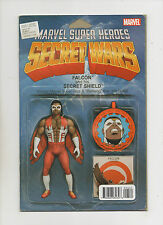 Secret Wars #5 - Falcon Action Figure Variant - (Grade 9.2) 2015