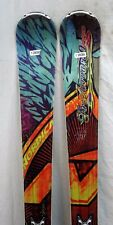 New listing 11-12 Nordica Fire Arrow 80 Pro Used Men's Demo Skis w/Bindings Size164cm#129095