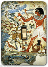 Ancient Egypt Egyptian Art Metal Single Light Switch Plate Cover Home Decor 290