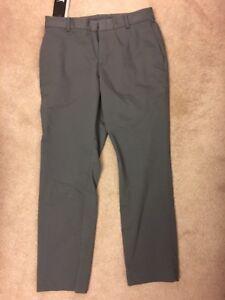 Men Nike Modern Fit Washed Golf Pants 833190 021 SIZE 30 X 30 Dark Grey New