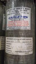 Carleton 4500psi 60min SCBA Carbon Fiber Cylinder air tank Mfr. Date 2001 # 6109