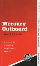 New listing 2015 Mercury Outboard 225/250/200 Verado Fourstroke Operation Maintenance (514)