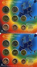 ESPAÑA 2003  2 CARTERAS OFICIALES EUROS