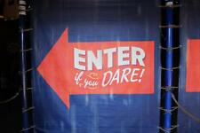 Old Photo. Amusement Park Sign. ENTER if you DARE!