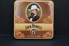 "original JACK DANIELS BELT BUCKLE in  tin ""old time quality whiskey"" 2003"