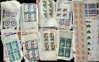 US MNH CV$100.00 All-Different Plate Blocks  [1/2c-$2.90][STOCK IMAGE]