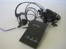 Plantronics Wired Noise Cancelling Headset w/ Amplifier M12 Purple Tested