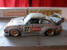 PORSCHE 911 GT2 n°27 Le mans 1996 1/43 de marque VITESSE sans boite d'origine