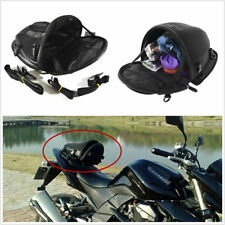 Motorcycle Tail Saddle Bag Back Seat Storage Carry For Suzuki