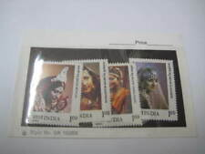 1980 India Set of 4 Stamps on Brides in Traditional Indian Costumes - MNH