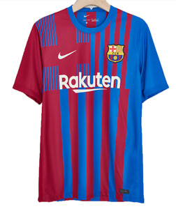 2021/22 FC Barcelona Home Shirt  Men's Football Jersey for Adult